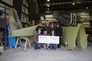 Teenflight Receives Donation from Scotiabank