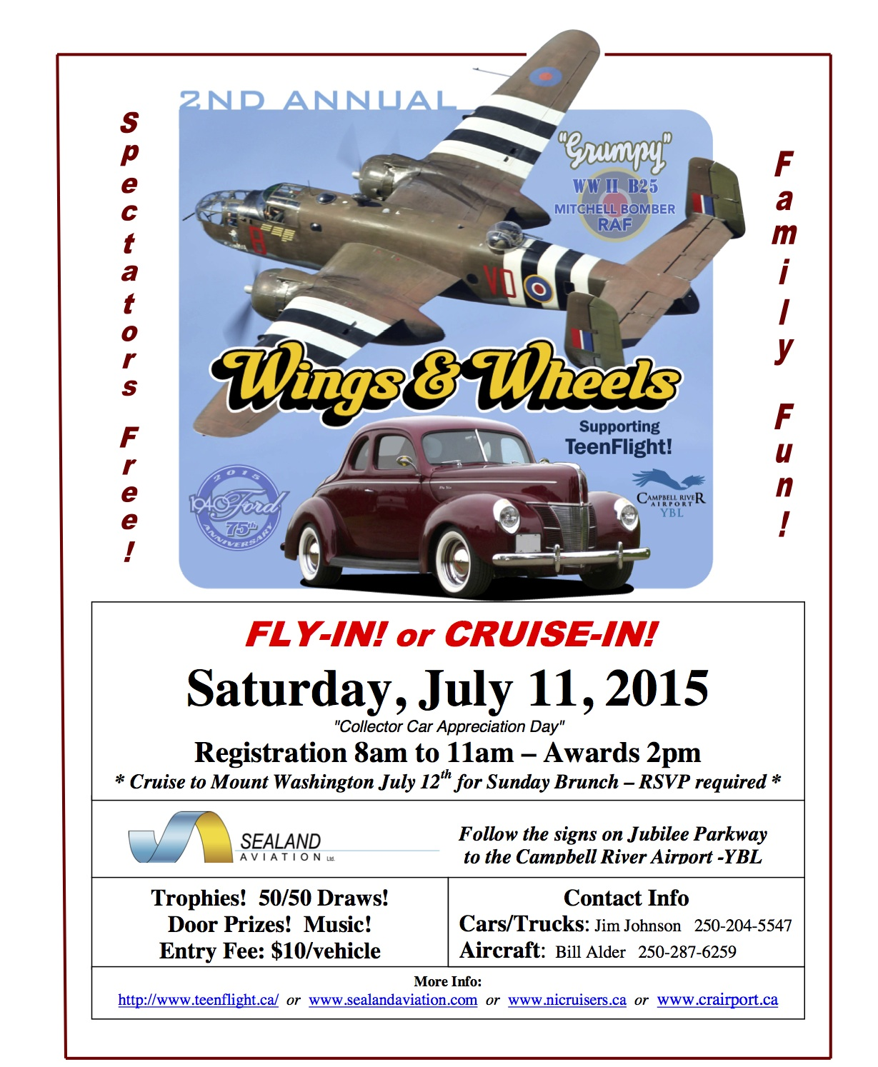 Car Show Campbell River Airport